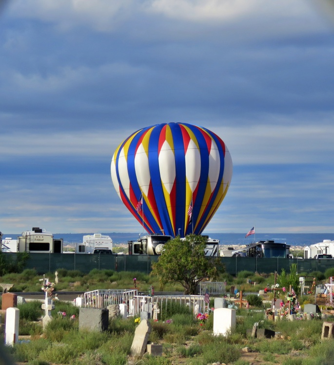 Baloon in RV park