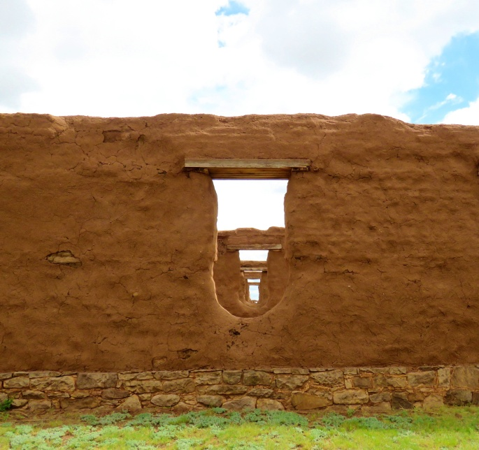 Fort Union Wall