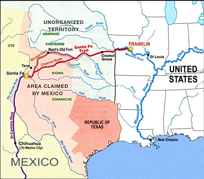 Map-of-Santa-Fe-Trail