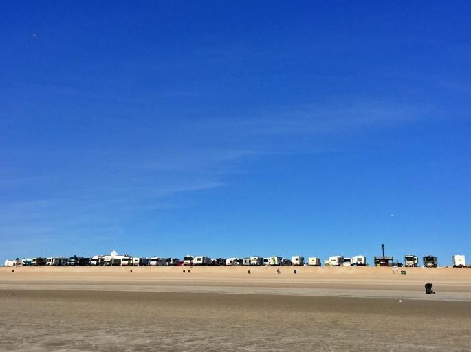 Rigs on Beach